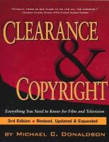 Clearance and Copyright: Everything You Need to Know for Film and Television