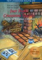 Just Right Crossword Puzzles: Beside the Fireplace Collection