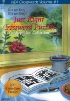 Just Right Crossword Puzzles: The Breakfast Collection