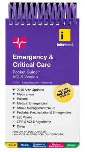 Emergency & Critical Care Pocket Guide, ACLS Version - Informed
