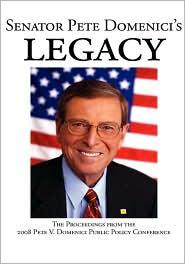 Senator Pete Domenici's Legacy - Jon Hunner (Editor)