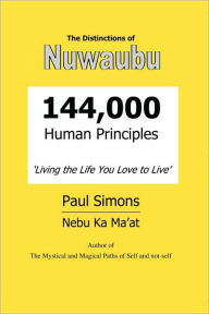 Distinctions of Nuwaubu, 144,000 Human Principles - Paul Simons
