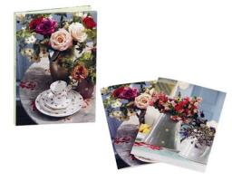 Country Flowers Wallet Notecards