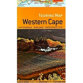 Touring Map Of Western Cape - Hall