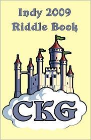 Indy 2009 Riddle Book - Matt Mayfield