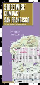 Streetwise Compact San Francisco Map - 20% smaller than our regular San Francisco map / Edition 2010 - Manufactured by Streetwise Maps