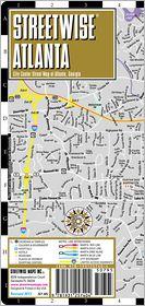 Streetwise Atlanta Map - Laminated City Center Street Map of Atlanta, Georgia - Folding Pocket Size Travel Map (2013) - Streetwise Maps Inc.