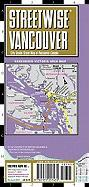 Streetwise Vancouver Map - Laminated City Center Street Map of Vancouver, Canada: Folding Pocket Size Travel Map