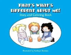 That's What's Different about Me! Helping Children Understand Autism Spectrum Disorders: Story and Coloring Book - McCracken, Heather