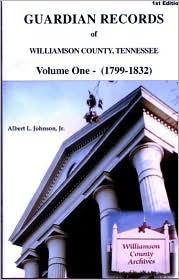 Guardian Records Of Williamson County, Tennessee - Albert L. Johnson