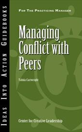 Managing Conflict with Peers - Cartwright, Talula