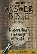 Thompson Answer Bible-NIV: Discovering Treasures of Truth
