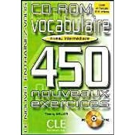 Vocabulaire 450 Exercises CD-ROM (Intermediate) - Collective