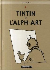Les aventures de Tintin t.24 ; Tintin et l'alph-art - Herge