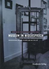 Museum im Widerspruch - Uwe Fleckner (editor), Max Hollein (editor)