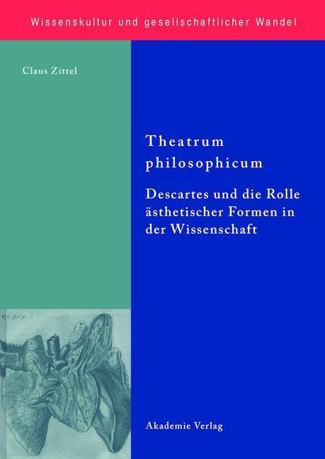 Theatrum philosophicum als eBook von Claus Zittel - Gruyter, Walter de GmbH