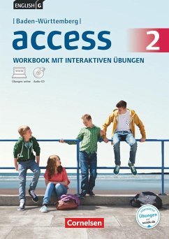 English G Access - Baden-Württemberg / Band 2: 6. Schuljahr - Workbook mit interaktiven Übungen auf scook.de: Mit Audio-Materialien