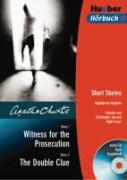 Witness for the Prosecution / The Double Clue. CD und Buch