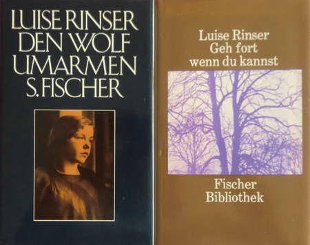 2 Bücher: Den Wolf umarmen / Geh fort wenn du kannst - Rinser, Luise
