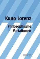 Philosophische Variationen (German Edition)