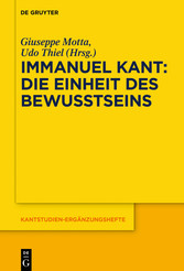 Immanuel Kant - Die Einheit des Bewusstseins - Giuseppe Motta, Udo Thiel