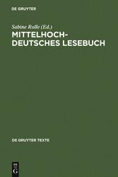 Mittelhochdeutsches Lesebuch - Sabine Rolle