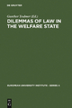 Dilemmas of Law in the Welfare State - Gunther Teubner