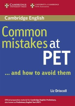 Common Mistakes at PET / Book. Lower intermediate - Driscoll, Liz