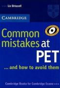 Common Mistakes at PET / Book. Lower intermediate