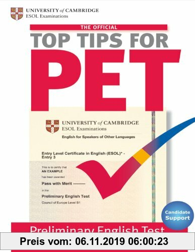 Gebr. - The Official Top Tips for PET