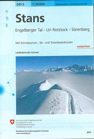 Stans à ski - Office Federal De Topographie    Suisse