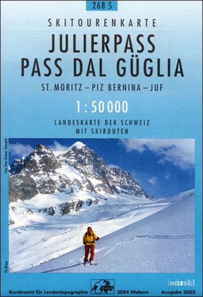 Julierpass ski - Office Federal De Topographie    Suisse