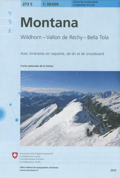 Montana ski - Office Federal De Topographie    Suisse