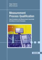 Measurement Process Qualification