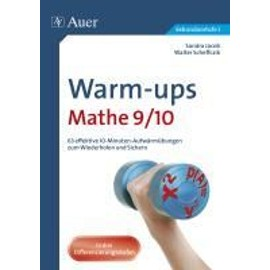 Warm-ups Mathe 9/10 - Sandra Jacob