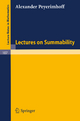Lectures on Summability - Alexander Peyerimhoff