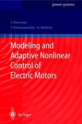 Khorrami, Farshad;Melkote, Hemant;Krishnamurthy, Prashanth: Modeling and Adaptive Nonlinear Control of Electric Motors