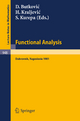 Functional Analysis - D. Butkovic; H. Kraljevic; S. Kurepa