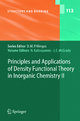 Principles and Applications of Density Functional Theory in Inorganic Chemistry II - N. Kaltsoyannis; J.E. McGrady