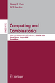 Computing and Combinatorics - Danny Z. Chen; D.T. Lee