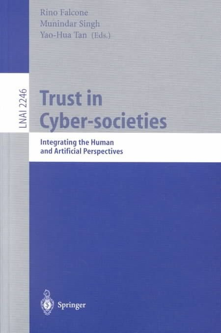 Trust in Cyber-societies - Rino Falcone