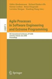 Agile Processes in Software Engineering and Extreme Programming: 9th International Conference, XP 2008, Limerick, Ireland, June 10 - Abrahamsson, Pekka / Baskerville, Richard / Conboy, Kieran