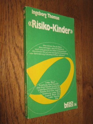 Risiko-Kinder - Thomae, Ingeborg