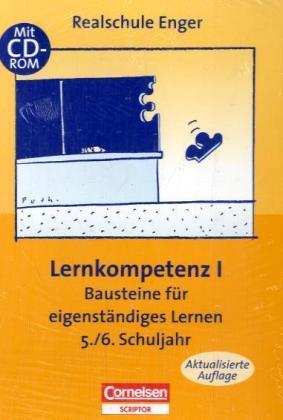 Praxisbuch: Eigenständiges Lernen (Paket), 3 Tle. - Lernkompetenz I, m. CD-ROM Lernkompetenz II, m. CD-ROM Lernkompetenz III, m. CD-ROM. Realschule Enger