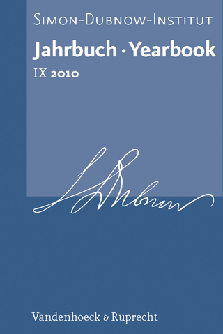 Jahrbuch des Simon-Dubnow-Instituts / Simon Dubnow Institute Yearbook IX (2010) - Dan Diner