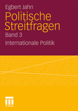 Politische Streitfragen: Internationale Politik - Band 3 (German Edition)