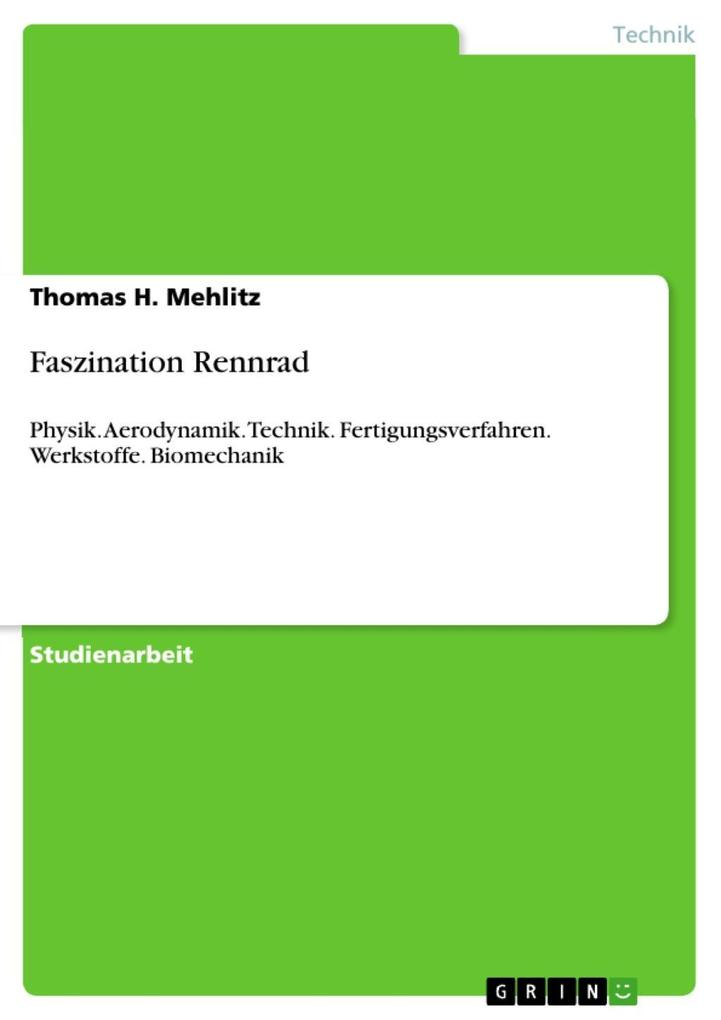 Faszination Rennrad als eBook Download von Thomas H. Mehlitz - Thomas H. Mehlitz