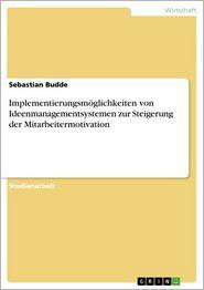 Implementierungsmöglichkeiten von Ideenmanagementsystemen zur Steigerung der Mitarbeitermotivation - Sebastian Budde