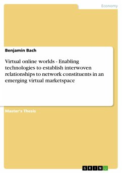 Virtual online worlds - Enabling technologies to establish interwoven relationships to network constituents in an emerging virtual marketspace - Bach, Benjamin