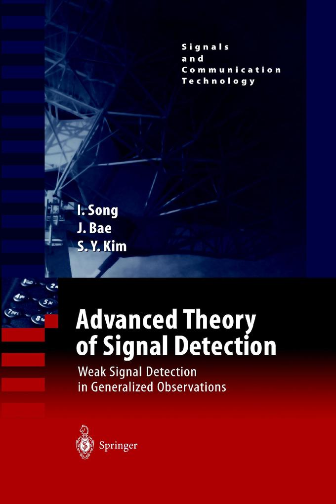 Advanced Theory of Signal Detection als Buch von Jinsoo Bae, Sun Yong Kim, Iickho Song - Springer